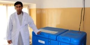 Dr Basir, EPI vaccinator, Afghanistan