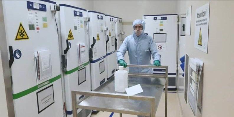 GSK Vaccines - Laboratory Freezers - Wavre Belgium