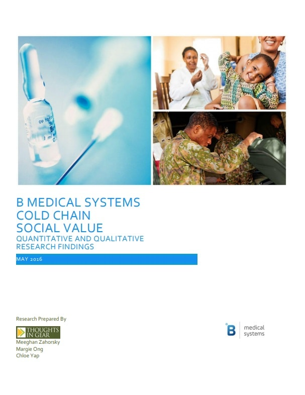 Research on the social value of vaccine cold chain equipment