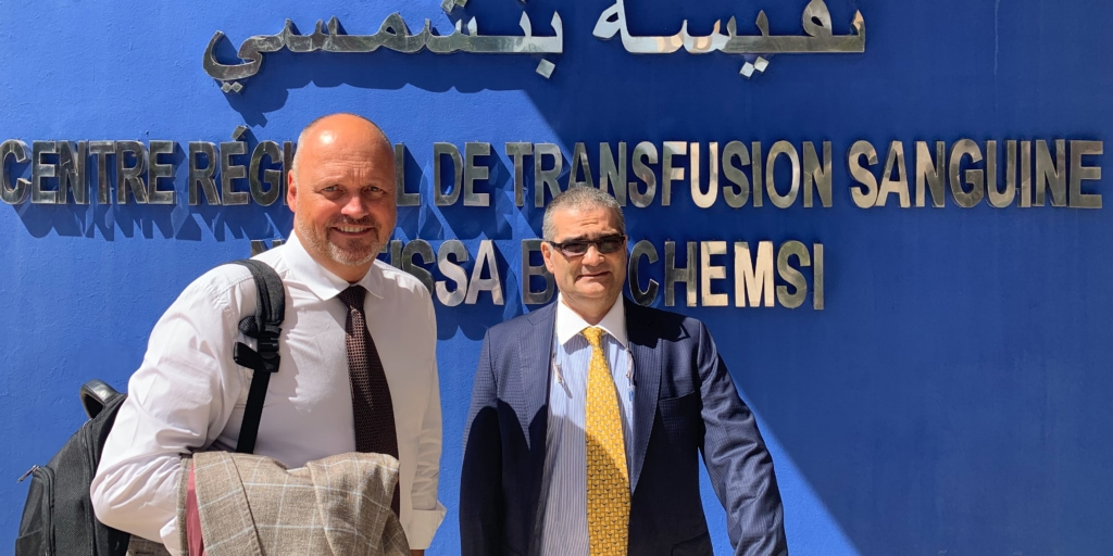 B Medical Systems Economic Mission Morocco