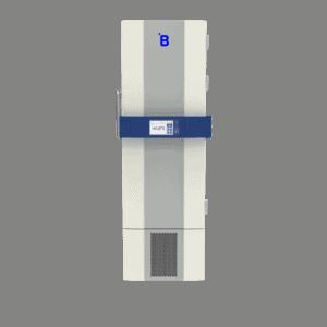 Lab freezer F400 front with door closed
