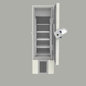 Laboratory freezer F400 front with door open