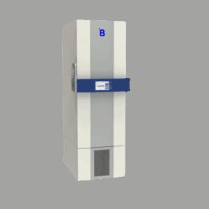 Plasma storage freezer F401 side with door closed