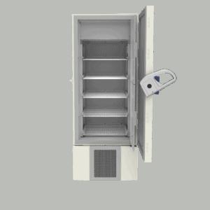 Laboratory freezer F500 front with door open