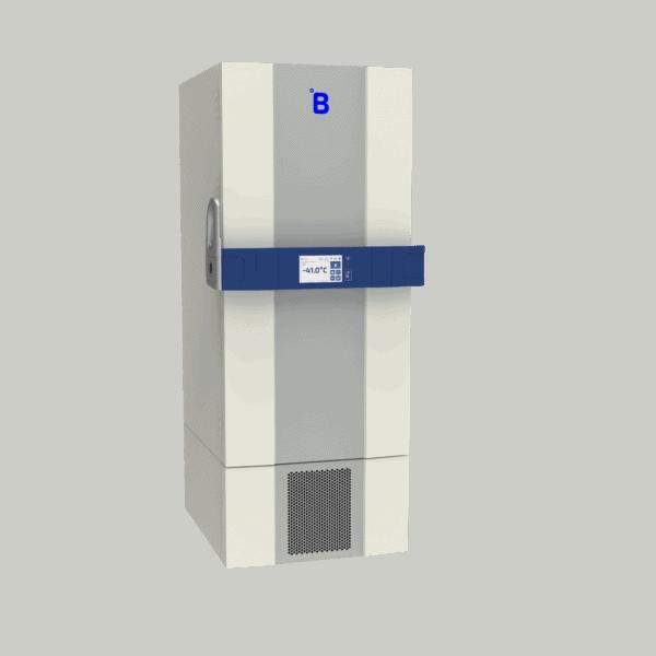 Plasma storage freezer F501 side with door closed
