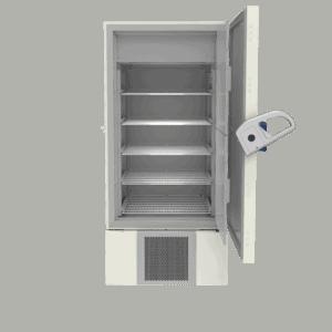 Laboratory freezer F700 front with door open