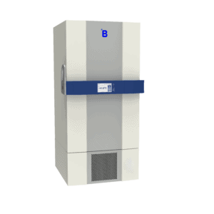 Plasma storage freezer F701 side door closed