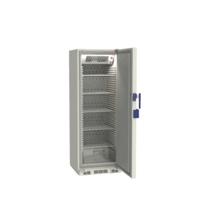 Lab refrigerator L290 side with door open