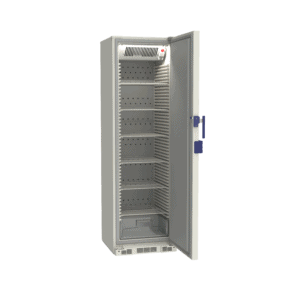 Lab refrigerator L380 side with door open