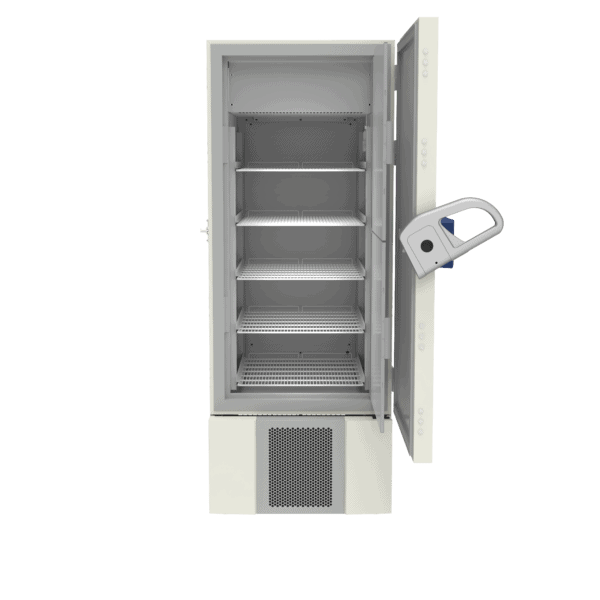 Lab refrigerator L500 front with door open