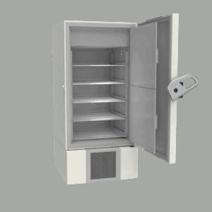 Laboratory refrigerator L700 side with door open