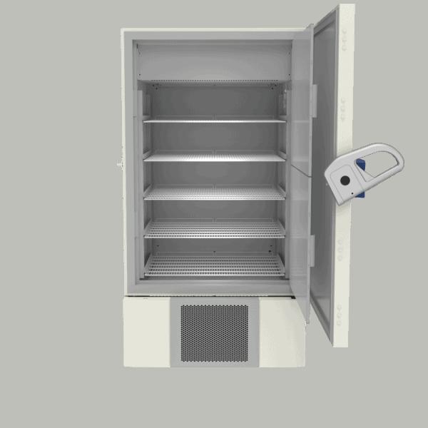 Laboratory refrigerator L900 front with door open