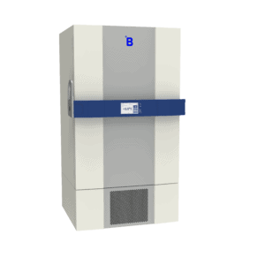 Lab refrigerator L900 side with door closed