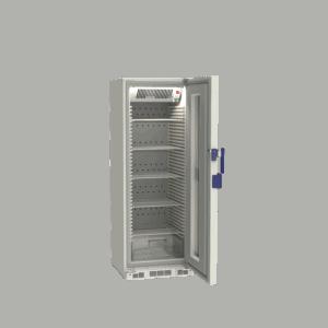 Pharmacy refrigerator P290 side with door open
