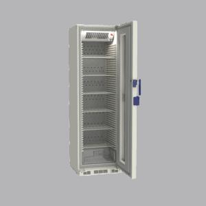 Pharmacy refrigerator P380 side with door open