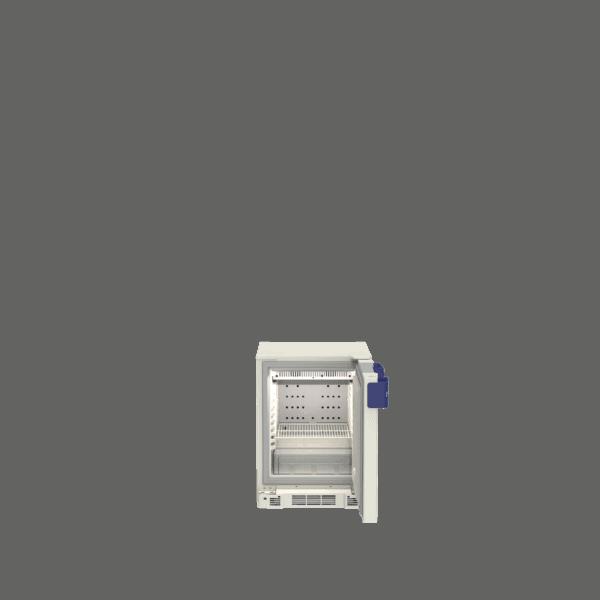 Pharmacy refrigerator P55 front with door open