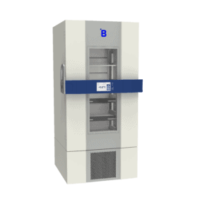 Pharmaceutical refrigerator P700 side with door closed