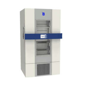 Pharmaceutical refrigerator P900 side with door closed
