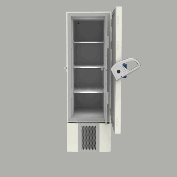 Ultra-low temperature freezer U401 front with door open
