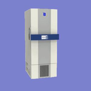Ultra-low freezer U501 side with door closed