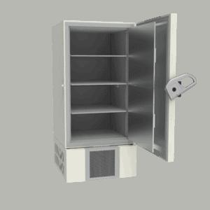 Ultra-low temperature freezer U701 side with door open