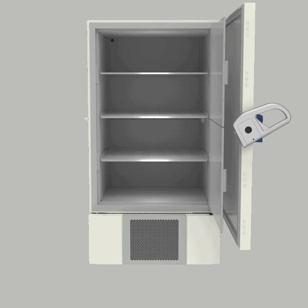 Ultra-low temperature freezer U901 front with door open