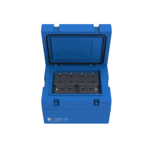 Medical transport box MT25 with top open