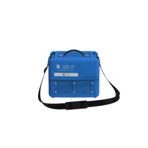 Medical transport box MT4 front with top closed