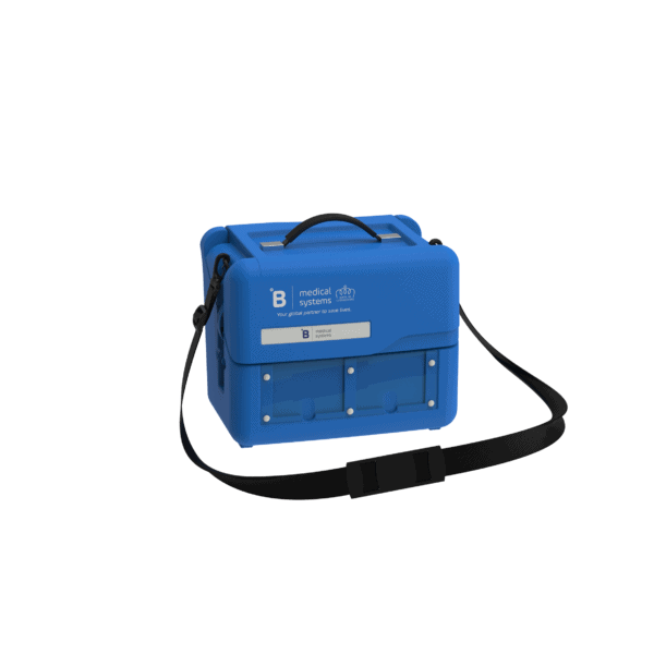 Medical transport box MT4 side with top closed