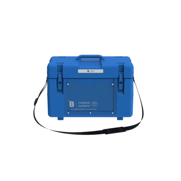 Medical transport box MT8 front with top closed