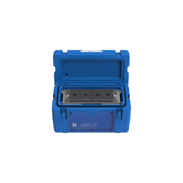 Medical transport box MT8 with top open