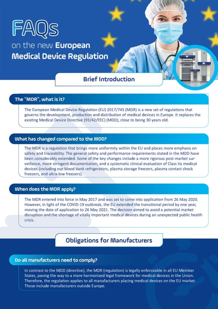 FAQ on the new EU Medical Device Regulation