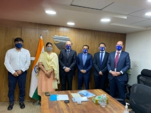Unveiling plans for India expansion