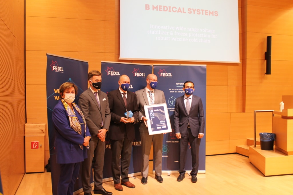 FEDIL BMedical Innovation award